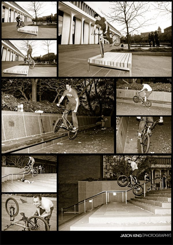 Street Riding at Princeton