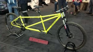 The prototype Salsa tandem - will we see it ... or not. Interest from customers and dealers will decide.