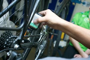Is your chain lubed? Rusty? Do the gears change smoothly? Are your pedals secure?