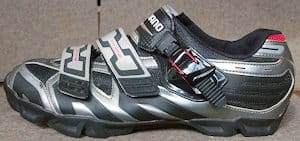 Mountain bike shoe - Easier to walk in
