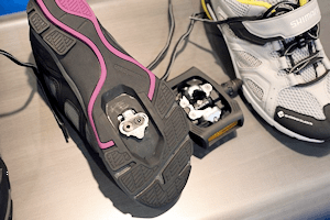 When you're ready switch to a regular Shimano cleat