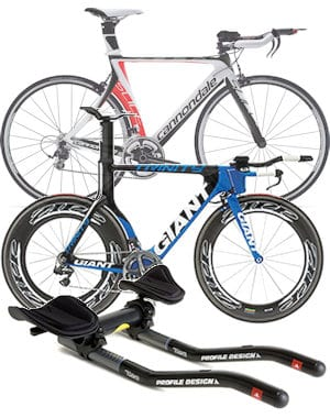 Triathlon or Time-Trial bicycles and road bike bar adapters