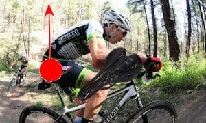 """A more """"aggressive"""" position means back shocks are directed obliquely ... but a narrower seat will be more comfortable"""