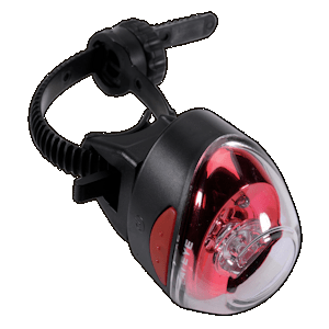 Cateye Rapid 1 rechargeable rear light - fits most aero seat-posts