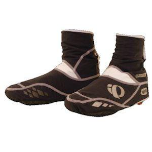 Winter shoe covers provide varying degrees of wind-resistance, insulation and water protection