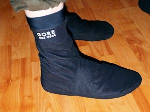 Goretex or neoprene socks may work for you