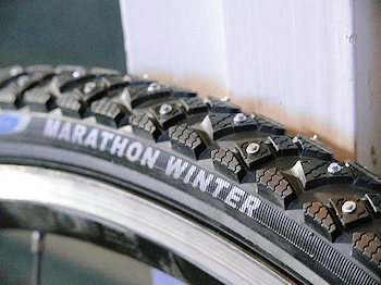 The ultimate in winter tires, but won't fit all frames ...