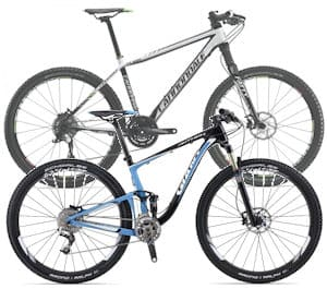 Mountain Bike - hard-tail or full-suspension