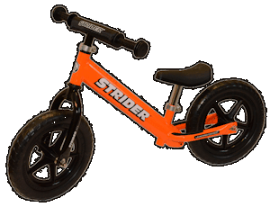 Balance Bikes - dispense with training wheels