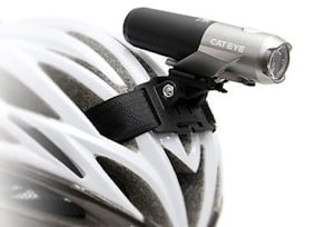 The package includes a helmet mount