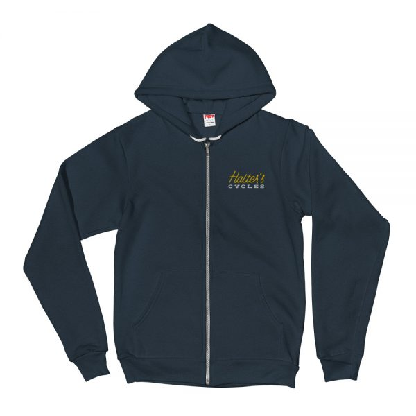 Halter's Cycles Fleece Hoodie 1