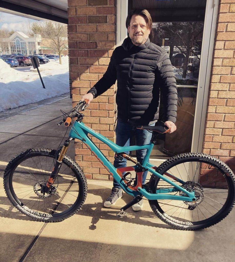 Dave's New Orbea